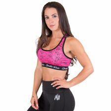 Gorilla Wear Hanna Sports Bra – Black/Pink fitness musculation