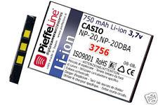 batteria Li-ion 750 mAh per  CASIO NP-20 NP-20DBA   NUOVA