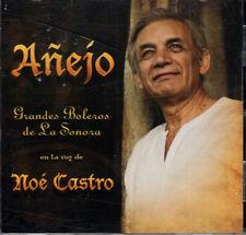 NOE CASTRO ANEJO GRANDES BOLEROS DE LA SONORA BRAND NEW SEALED   CD