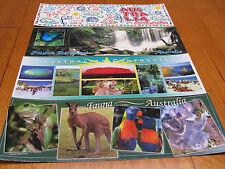 Four superview  - Australia Postcards - unused 330mm wide