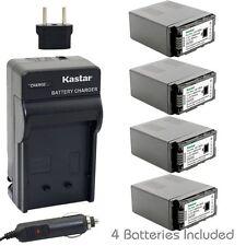 Kastar VW-VBG6 Battery & Charger Panasonic SDR-H68 SDR-H80 SDR-H90 SDR-H258