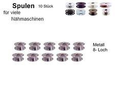 Bobinas para muchas otras máquinas de coser metal 8 agujeros, 10 St. #hbo. si