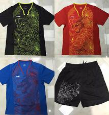 Li-Ning 2016 Rio Olympic China Team Table Tennis Shirt + Shorts, New, UK