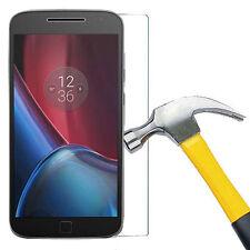 Tempered Glass Screen Protector Film Case Motorola Moto G4 G 4 Gen / Plus / Play