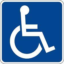 Handicap Wheelchair Decals / Stickers