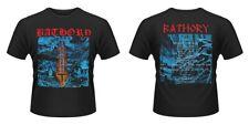 Bathory-Sangre Sobre Hielo (Front & Back Print) (Nuevo Para hombres Camiseta)