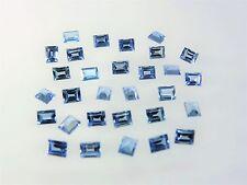 Aquamarine Baguette Cut Shape Stones SIZE CHOICE Loose Spinel Gemstones LOT