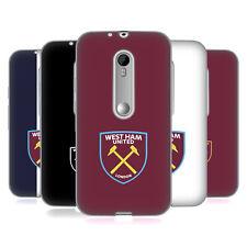 Oficial West Ham United FC 2016/17 Crest caso De Gel Suave para teléfonos Motorola 2