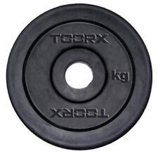 Toorx Disco Ghisa Gommata 1 2 5 10 20 kg Pesi 25-26mm Gomma Bilanciere Manubri