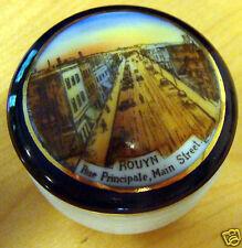 Small 3 Legged Rouyn Canada Souvenir Pot/Jar/Container