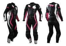 Kc213 Combinaison moto cuir Femme Lady GP Karno - 2 pièces