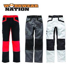 Dickies Industry 260 Work Trouser, Knee Pad Pockets, Elasticated Various Colours