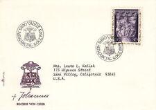 1975 Liechtenstein Fdc Cachet Cover - Bischof Von Chur
