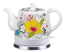 Teapot Ceramic Electric Kettle Warm Plate, Kitchen Water Boiler Gift 12039