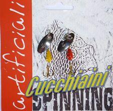 cucchiaino vespa rotante artificiali pesca spinning trota cavedano  cucchiaini