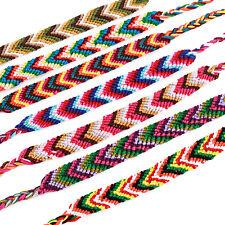 Freundschaftsband Freundschaftsarmband Armband geflochten Ethno Festival Chakra