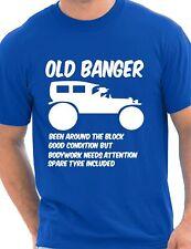 Old Banger Birthday Present Funny Gift Mens T-Shirt Size S-XXL