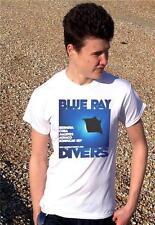 Blu RAY subacquei-Retro Spiaggia & vacanze immersioni subacquee T-shirt Da Uomo Tutte Le Taglie