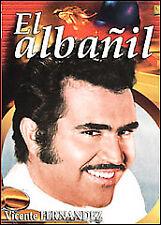 El Albanil (Vicente Fernandez ) Brand New DVD