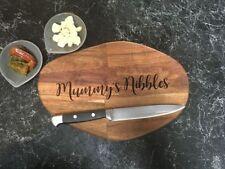 Gorgeous Engraved Personalised Mango Wood Chopping Board