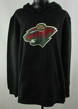Minnesota Wild NHL Reebok Youth Long Sleeve Pullover Hoodie