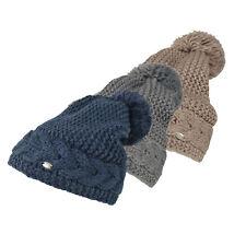 PIKEUR-Berretto a maglia con lavorazione a trecce-Inverno 2017
