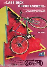 Fahrrad-Prospekt ZEG 90er Jahre Rixe Peugeot Centano Merida Pegasus Hercules