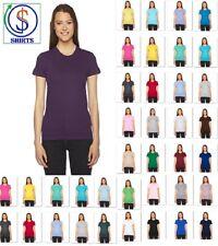 American Apparel 2102W Women's Top Fine Jersey Tee 100% Cotton T-Shirts New SALE