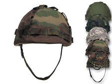 MFH US Kunststoffhelm mit Bezug Helm Plastikhelm Tarnbezug Camo Camouflage
