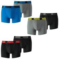 2 en Paquete PUMA hombre Active Bóxer Shorts Ropa interior Sport