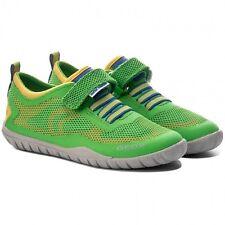 Geox J Trifon B Boys Hook & Loop Sneakers / Shoes - Green Yellow Blue