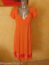 jolie robe orange JACKPOT taille XS NEUF ÉTIQUETTE valeur 120€