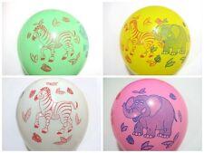 254x30.5cm látex Mezcla Animal Impreso globos fiesta Colores DE LA MEJOR CALIDAD
