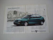 advertising Pubblicità 1995 LANCIA DELTA HPE