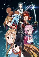 Sword Art Online SAO ALO Anime Art Deco Poster Wall Fabric Canvas 3105