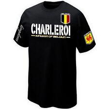 T-Shirt CHARLEROI WALLONIE BELGIQUE BELGIUM ultras - Maillot