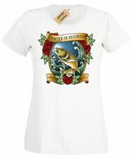 Bass Hunter Womens T-Shirt Ladies top funny fishing top