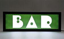 BAR - USB powered LED, Ash Wood Light Sign - (V3)