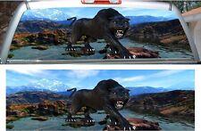 Mountain Panther car truck rear window view thru graphic