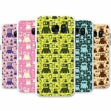 Monster Robots Snap-on Hard Back Case Phone Cover for Samsung Mobile Phones