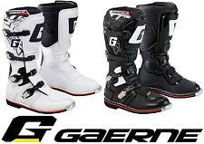 GAERNE GX-1 Goodyear motocross enduro mx Bottes noir ou blanc tout terrain