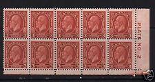 Canada #192i Mint Plate #2 LR Block Broken E Variety