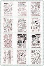 Celebrate Design Stamp Silicone Seal Stencil Handcraft Scrapbook Album Embossing