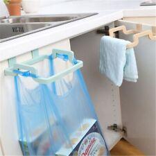Supply Garbage Pouch Rack Bag Can Rack Holder Trash Storage Cupboard Hanging