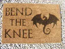 GAME OF THRONES INSPIRED WELCOME COIR DOOR MAT FRONT BACK GIFT IDEA FAN PRESENT