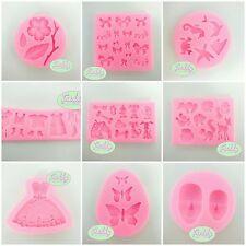 stampi stampo in silicone per pasta di zucchero fimo cake design sugarcraft