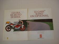 advertising Pubblicità 1990 MOTO GILERA SP 02