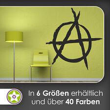 waf0843 - Anarchie Wandtattoo KIWISTAR - Aufkleber