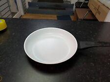 20cm/24cm/28cm Ceramic Coated Aluminium Die-Cast Frying Pan Induction Hob Maroon