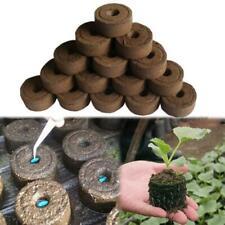 30mm Jiffy Peat Pellets Seed Starting Plug Pallet Seedling Soil Block POE Garden